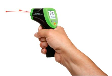 Elma 611B – Infrared thermometer -50°C to 1000°C