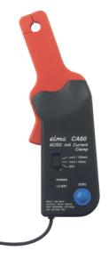 Elma CA 60 - Current Clamp for milliamps AC / DC
