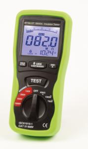 Elma DT 5500A - 2 in 1 multimeter and insulation tester