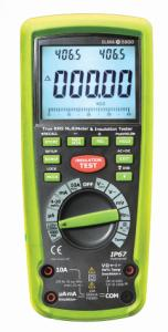 Elma 5800 – Digital insulation tester with true RMS multimeter function