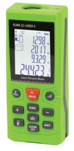 Elma Laser 3 - Laser distance meter with inclinometer and bluetooth