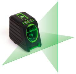 Elma Laser x2, green cross laser for increased visibility