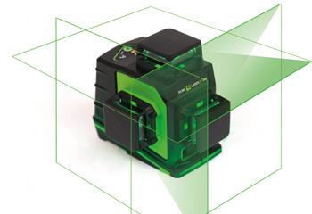 Elma Laser x360, three axis 360˚ lines, green for extended visibility