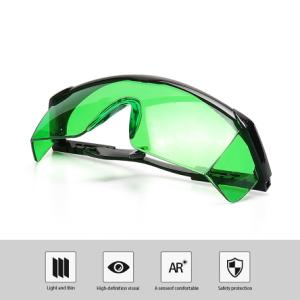 Laser goggle for green lasers